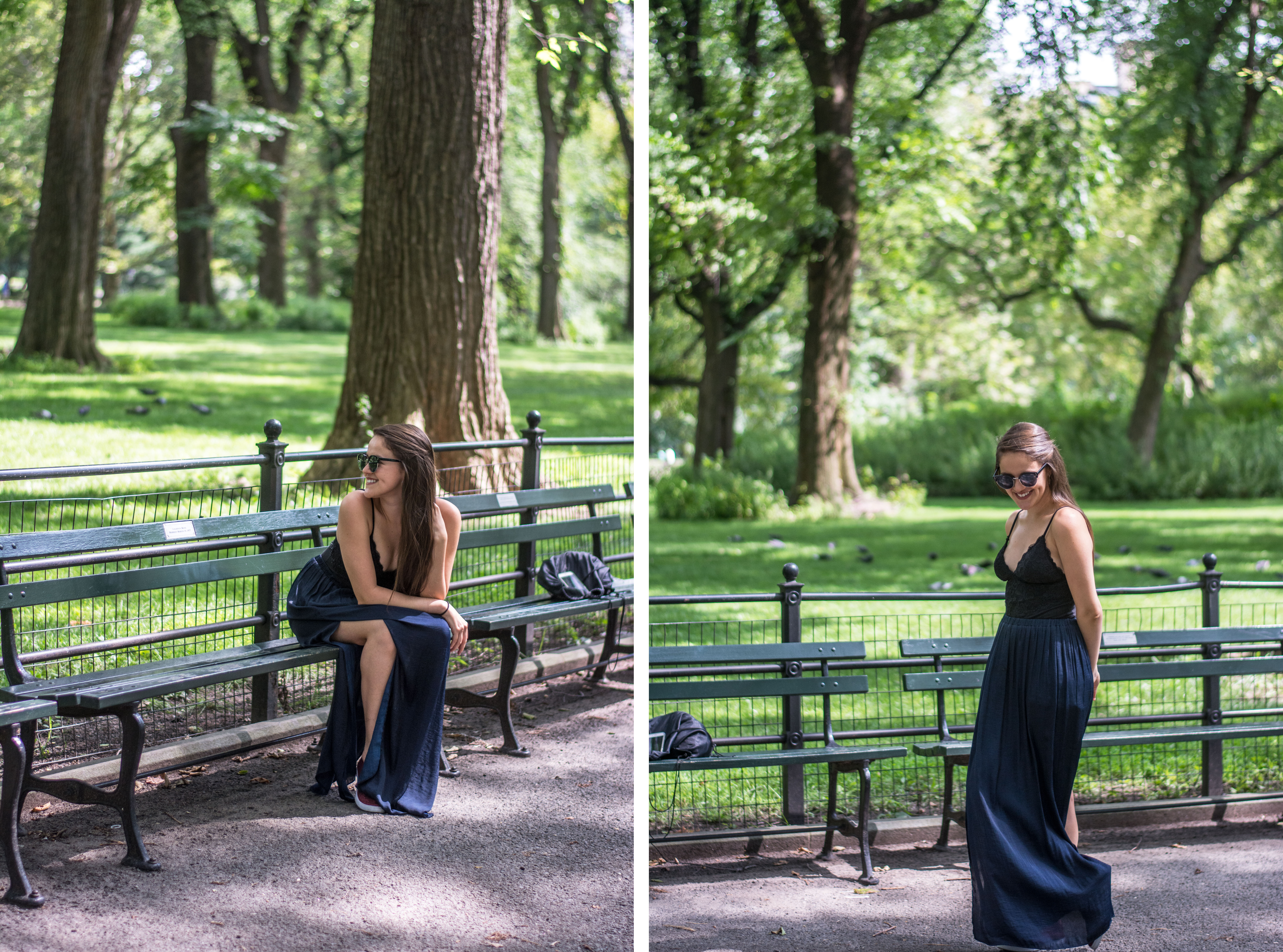 The Mall en Central Park, Nueva York